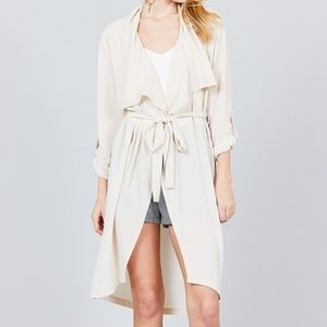 Light weight Trench Coat/Duster